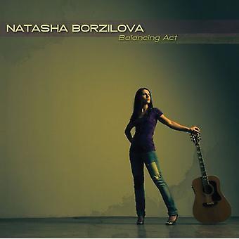Natasha Borzilova - balansgång [CD] USA import