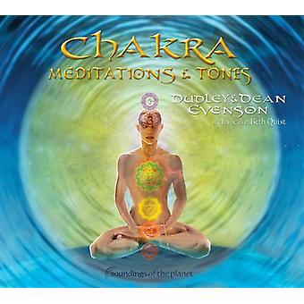 Dean Evenson & Dudley - Chakra meditationer & toner [CD] USA import