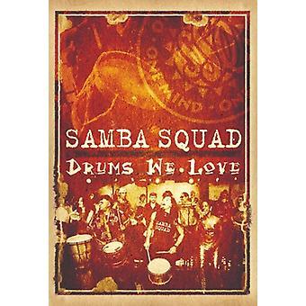 Samba trup - trommer vi kærlighed [DVD] USA importerer