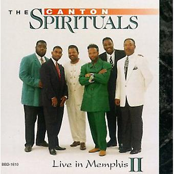 Canton Spirituals - Live i Memphis II [CD] USA import