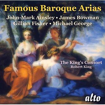 John-Mark Ainsley, Gillian Fisher, James - berömda barock Arias [CD] USA import