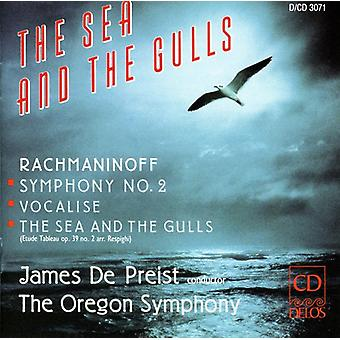 S. Rachmaninoff - The Sea and the Gulls: Rachmaninov [CD] USA import