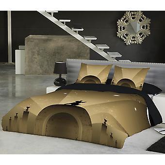 Fly mig til Månen sengetæppe Uk Superkingus Kingsize-