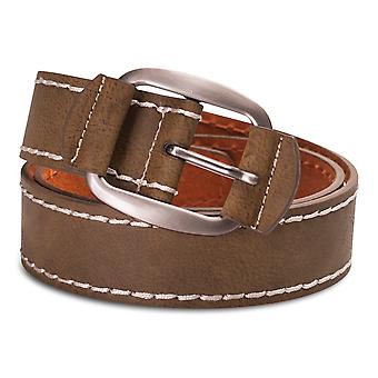 Hawkdale Mens Real Nubuck Leather Belt  - 1.5'' Width Genuine Jeans Belts 8R-F23