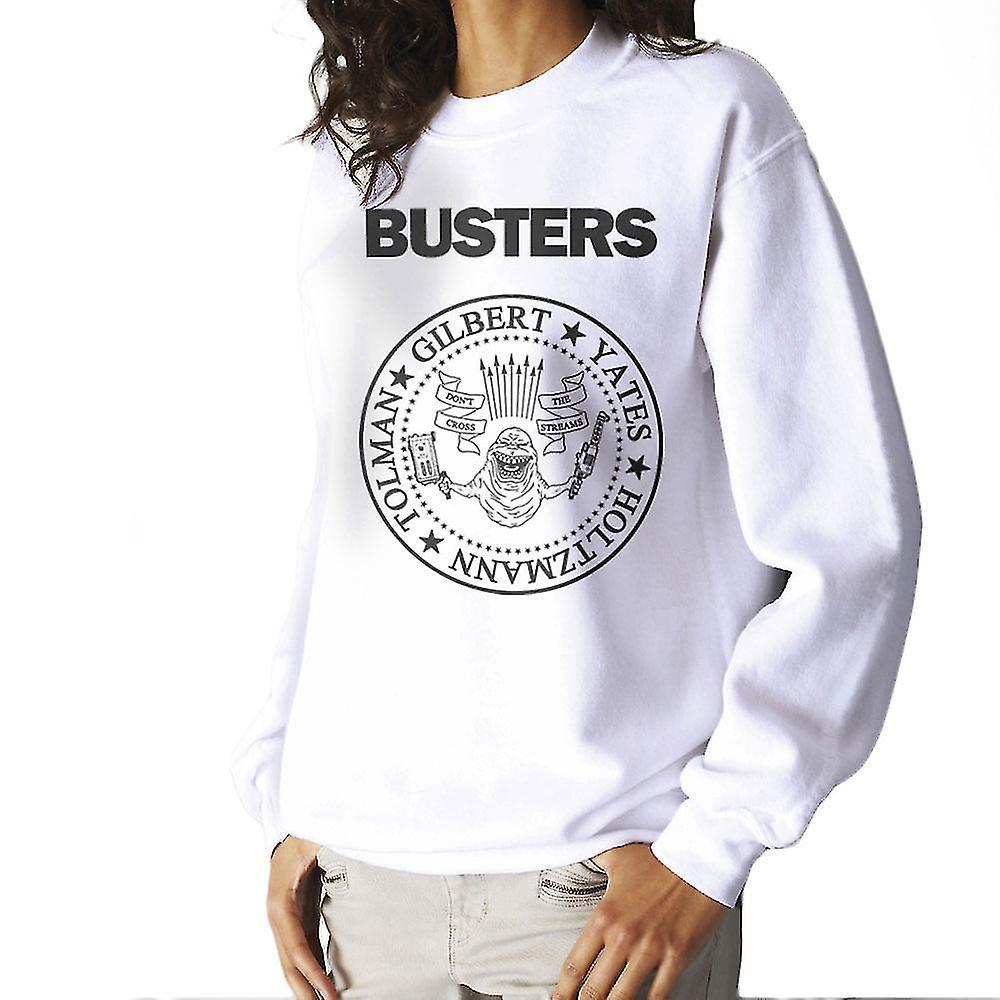 ramones busters ghostbusters schwarz neu damen sweatshirt fruugo. Black Bedroom Furniture Sets. Home Design Ideas