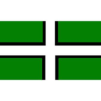 Devon Flag 5ft x 3ft With Eyelets For Hanging