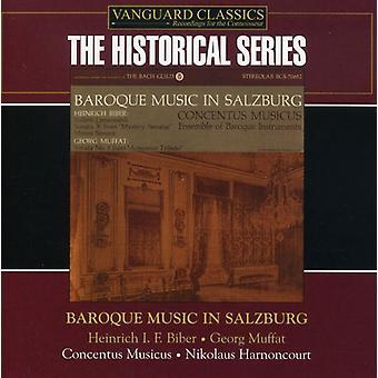 Concentus Musicus - barok musik i Salzburg [CD] USA import