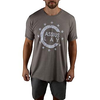 Title Boxing Cassius Clay '64 Champ Premium Fitted Legacy T-Shirt - Ash Gray