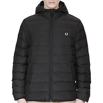 Fred Perry J2514 isolation Hooded Brentham Jacket Black