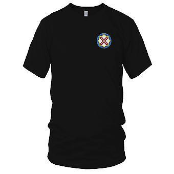 US Army Battlefield - 142. nadzoru brygady haftowane Patch - koszulki męskie