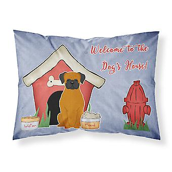 Dog House Collection Fawn Boxer Fabric Standard Pillowcase