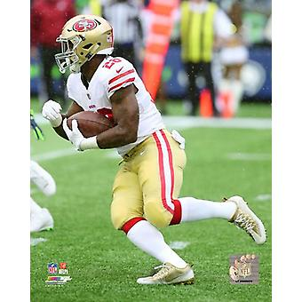 Carlos Hyde 2017 Action Photo Print
