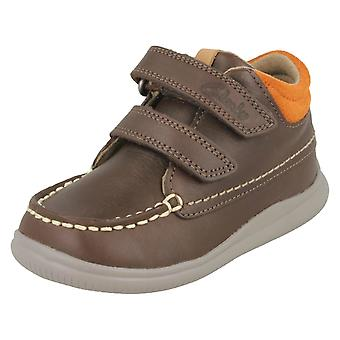 Jungen ersten Schuhe von Clarks Ankle-Boots Cloud Tuktu