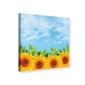 Canvas Print Suns Flowerpower