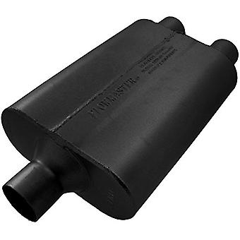Flowmaster 9424422 40 Delta Flow Muffler - 2.25 Center IN / 2.25 Dual OUT - Aggressive Sound