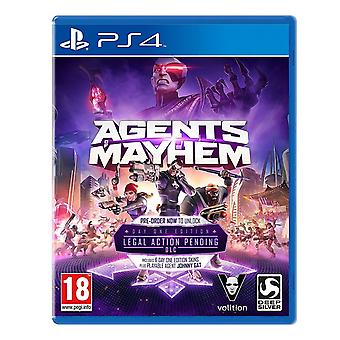Agenter i kaos dag Edition PS4 spillet