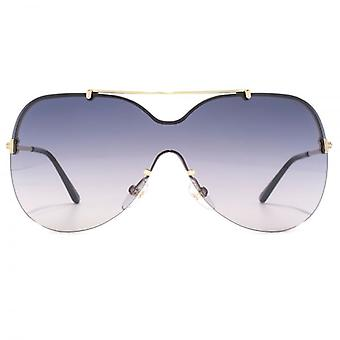 Tom Ford Ondria Sunglasses In Shiny Rose Gold Grey