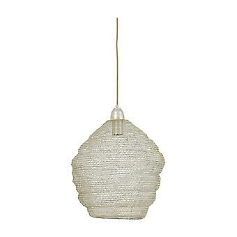 Light & Living Hanging Lamp Ø38x42 Cm NINA Wire Champagne