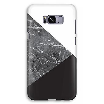 Samsung Galaxy S8 Plus Full Print Case (Glossy) - Marble combination