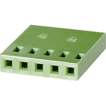 Socket enclosure - cable AMPMODU MOD IV Total number of pins 4 TE Connectivity 925366-4 Contact spacing: 2.54 mm 1 pc(s)