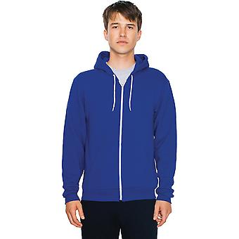 American Apparel Mens Flex Fleece Unisex Polycotton Zip Hoodie