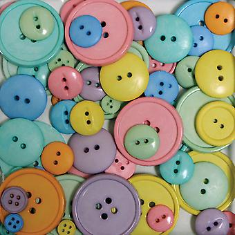 Favorite Findings Big Bag Of Buttons Happy 3.5Oz 5500 2003