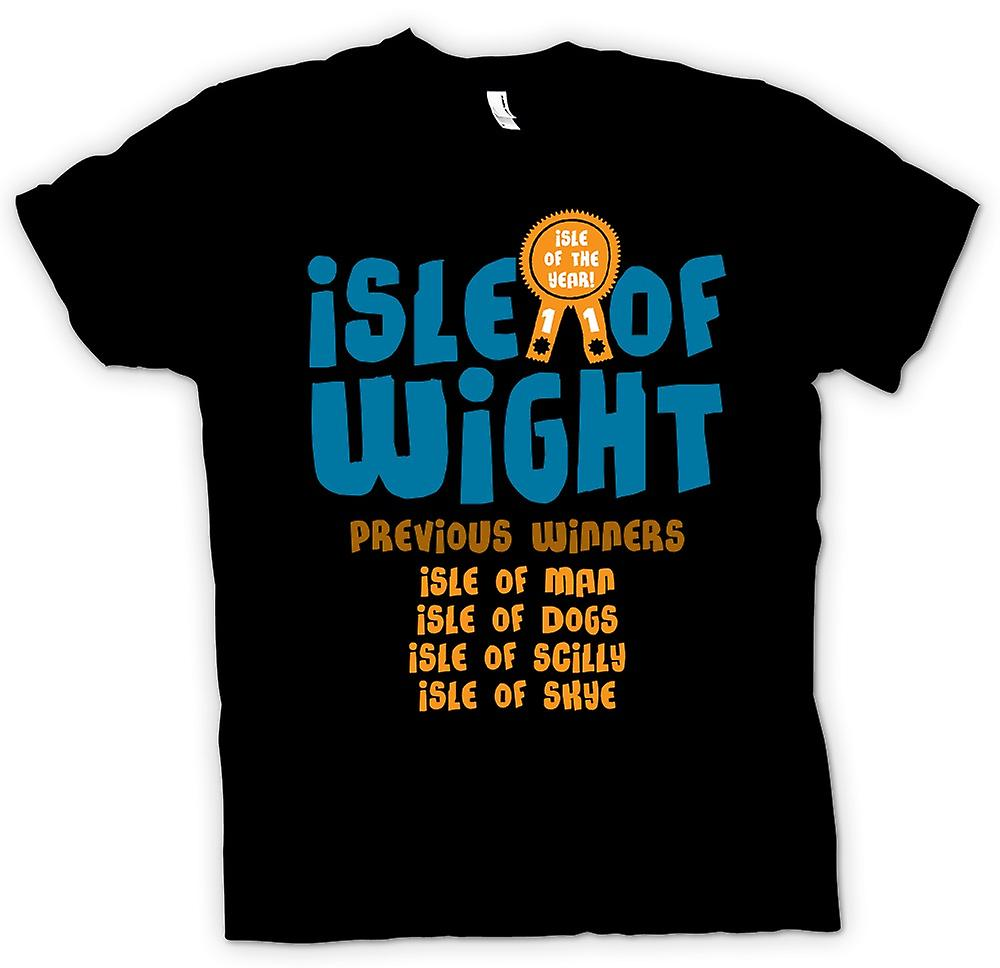 Mens t-shirt-isola di Wight - Funny - UK