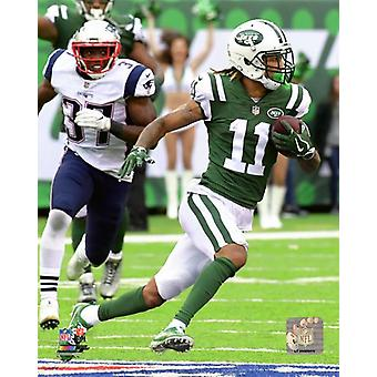 Robby Anderson 2017 Action Photo Print
