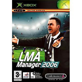 LMA Manager 2006 (Xbox)