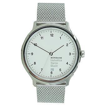 Mondaine Unisex Watch Helvetica No1 wristwatch MH1. R2210. SM