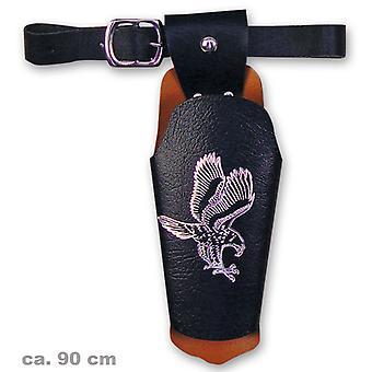 Revolver belt Eagle 90 cm cowboy Bandit Sheriff Eagle