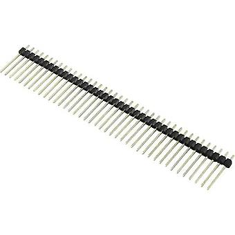 Connfly Pin strip (standard) No. of rows: 1 Pins per row: 6 1390113 1 pc(s)