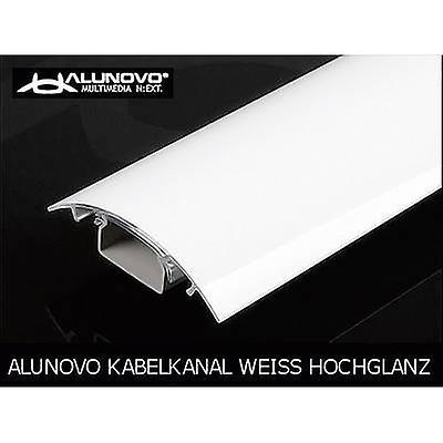 Alunovo HW90-070 Cable duct (L x W x H) 700 x 80 x 20 mm 1 pc(s) White (glossy)