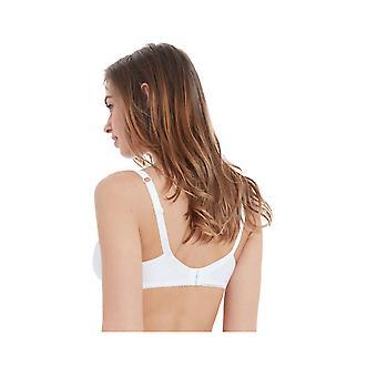 Bestform 54456-010 Women's Santorin White Solid Colour Underwired Full Cup Bra