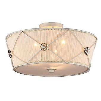 Maytoni Lighting Lea Elegant Ceiling Lamp, White Gold