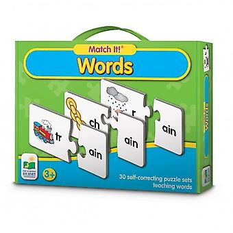 The Learning Journey Match It! Words