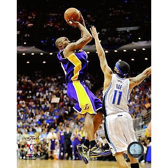 Kobe Bryant omgång fem 2009 NBA finalen Action (nr 21) Photo Print (8 x 10)