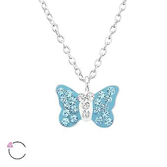 Butterfly - 925 Sterling Silver Necklaces - W32753X