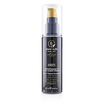 Paul Mitchell Awapuhi Wild Ginger Smooth Mirrorsmooth High Gloss Primer (Shine - Thermal Protection) - 100ml/3.4oz