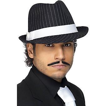 De Smiffy Deluxe Trilby hoed