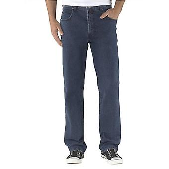 PIONEER stylish men's Jeans with studs decorating short size large size blue