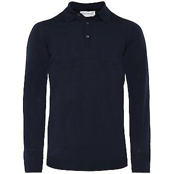 John Smedley Merino Wool Dorset Polo Shirt