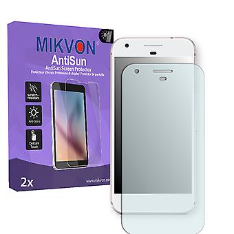 Google Pixel Screen Protector - Mikvon AntiSun (Retail Package with accessories) (reduced foil)