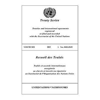 Recueil des traités 2820 (Anglais/Français édition) de l'organisation des Nations Unies Publica