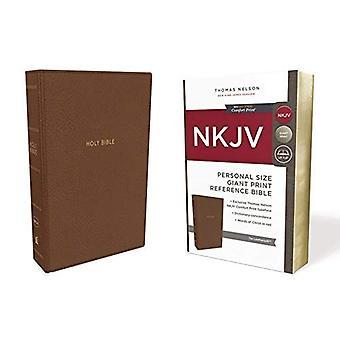 Johannes, referanse Bibelen, personlig størrelse gigantiske Print, Leathersoft, brun, rød bokstaven Edition, komfort skrive