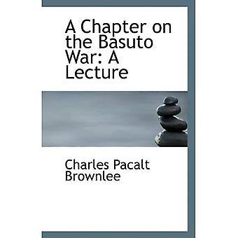 Rozdział na temat wojny Basuto: wykład