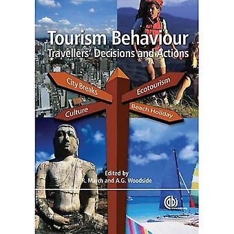 Actions, les décisions et les comportements touristiques du voyageur