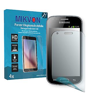 Samsung Galaxy Trend Screen Protector - Mikvon Armor Screen Protector (Retail Package with accessories)