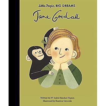 Jane Goodall (peu de gens, de grands rêves)