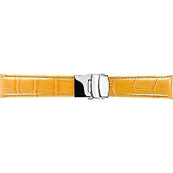 Morellato black leather strap 20 mm TYPE man A01U3084656286CR24